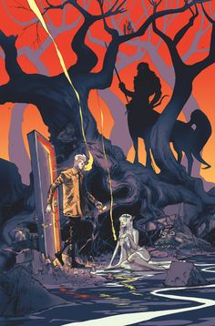 CONSTANTINE: THE HELLBLAZER #10 Written by MING DOYLE and JAMES TYNION IV Art by ALBERTO PONTICELLI Cover by RILEY ROSSMO