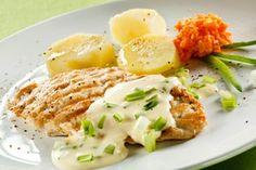 Kalkoenbiefstuk met groene pepersaus #recept