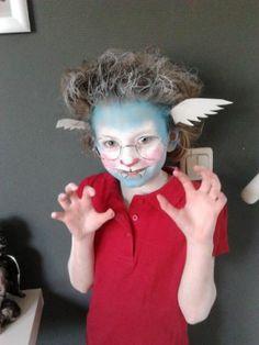 Dolfje weerwolfje schmink