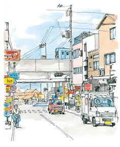 倉敷市・水島商店街周辺