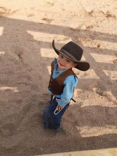Meet Bronc, the son of Ranch Barn Manager Joe. This 2.5 year old cowboy rode in the first rodeo of the season last night. With a smile like this he's likely to steal the show this year. | The Ranch at Rock Creek, Philipsburg, Montana || The World's Only Forbes Travel Guide Five-Star Ranch