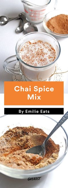 Chai Spice Mix #edible #gifts http://greatist.com/eat/diy-holiday-gifts-to-give-when-you-are-broke