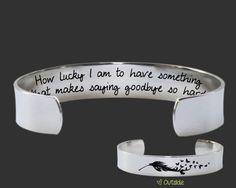 Goodbye Gift | Goodbye Gifts | Going Away Gift | Deployment Gift | Memorial Gift | How lucky | Korena Loves | KLSM