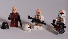 Lego Star Wars Old Republic minifigures, some of the best LEGO SW minifigures money can buy.