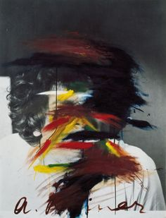 Arnulf Rainer, Face Coloration, 1969/73, Bank Austria Kunstsammlung © Courtesy the Artist