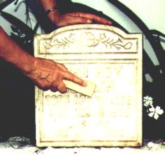 How-to do Tombstone Rubbings