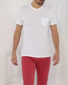 Prezzi e Sconti: #T-shirt con tasca 14ek1m0f491t420--1101  ad Euro 29.50 in #In stock #Brooksfield