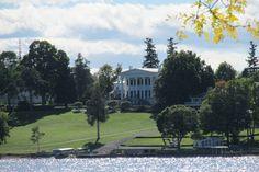 House on Skaneateles Lake