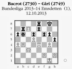 Chess & Strategy daily puzzle. Real game chess tactic. White to move. How should white proceed? More exercises on www.echecs-et-strategie.fr