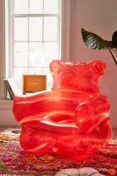 Indie Room Decor, Cute Room Decor, Decoration Inspiration, Room Inspiration, Room Ideas Bedroom, Bedroom Decor, Inflatable Chair, Deco Studio, Kawaii Room