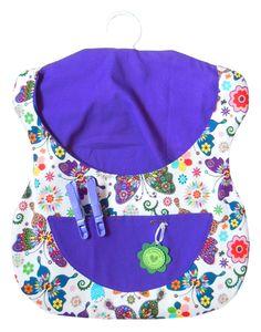 Wäscheklammersäckchen *Schmetterlingsparade*