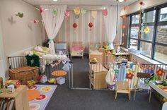 infant daycare room design ideas