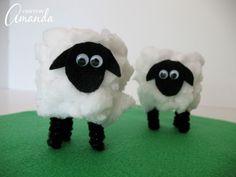 I hope you enjoy creating these cardboard tube lambs!