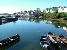 Roundstone Connemara Ireland. Was there a few years ago - lovely and quiet with many day-trip possibilities.