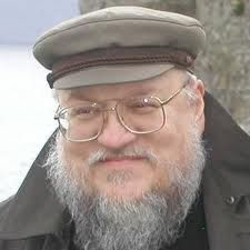 George R.R. Martin  Click on the cover to see what books are available at Otis Library.