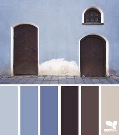 street tones - design seeds - love this color scheme palette - I need to use this in my home decor somewhere!