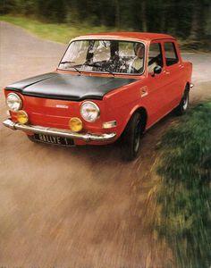 Simca 1000 Rallye 1. gekocht in het jaar 1978 voor 1000 gulden.