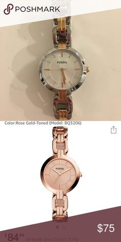 81b8279bf44 Fossil watch Brand new watch. Wore it a few times. Fossil Accessories  Fossil Uhren