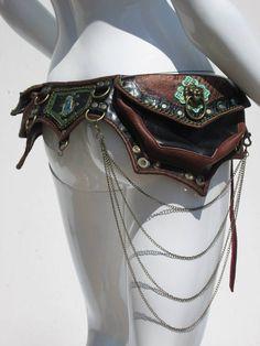 Playa Princess Leather Utility Belt by ahniradvanyi on Etsy