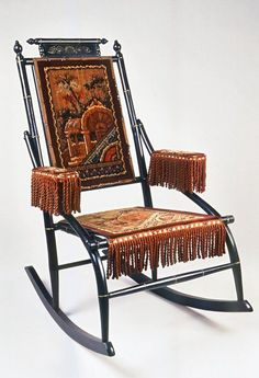 Rocking Chairs From The 1880s | Rocking Chair (Faux Bamboo/Aesthetic  Movement Style)