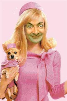 Legally Bean | Community Post: 28 Creepy Photoshopped Pictures Of Mr. Bean