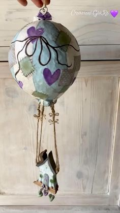 Cardboard Box Crafts, Paper Crafts, Balloon Decorations, Baby Shower Decorations, Décoration Baby Shower, Heritage Crafts, Rustic Room, Shabby Cottage, Shabby Chic Decor