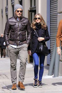 Olivia Palermo Photo - Olivia Palermo and Johannes Huebl in Brooklyn