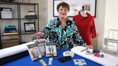 Want to add some pizazz to your top, pants or even a coat or jacket---use a Schmetz double needle and a wave ruler and away you go!!!  This is simple and easy and you will even amaze yourslef!