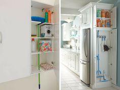 cozinha armário limpeza