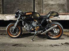 Ducati Sport Classic La Rage ~ Return of the Cafe Racers