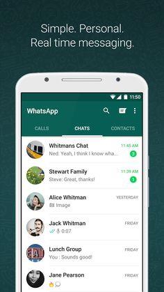 ApkDriver - Android Apk: WhatsApp Messenger v2.16.195 apk