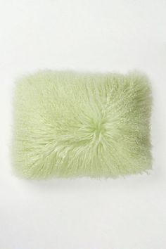 Fluffed & Flaunting Pillow #anthropologie