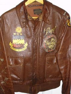 77th Fighter Squadron A-2 jacket.