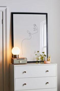 Explicit Design Dreamy Girl Line Art Print wall decor, wall art Full Circle Home: Line Art - A favorite collection Design Home Plans, Home Design, Wall Design, Print Design, Design Ideas, Design Girl, Bedroom Wall, Bedroom Decor, Wall Decor