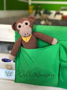Buddy the Ape von Burlap, Reusable Tote Bags, Teddy Bear, Toys, Nice Things, Tutorials, Nice Asses, Activity Toys, Hessian Fabric