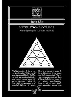 """{sh404sef_social_buttons} Numerologia Pitagorica e Ghematrie cabalistiche """"La Matematica è la lingua con cui D-o ha scritto l'Universo"""". È una citazione di Galileo Galilei, che però era conscio di ribadire una consapevolezza assai più antica. Pitagora ci disse che tutto ciò che sapeva lo doveva ai sacerdoti d'Egitto. In questo libro, presentiamo, secondo la lectio Massonica, le 10 tappe sacre della Numerologia Pitagorica, un corpus sapienziale fatto di idee e simboli senza29,99 €Leggi tutto Geometric Art, Movie Posters, Universe, Film Poster, Billboard, Film Posters"""