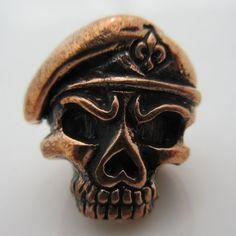 Green Beret Paracord Bead in Copper by Lion ARMory