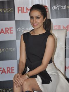 Shraddha Kapoor unveils her sexy new Filmfare cover.