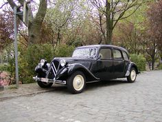 Citroen Traction Avant - 1934 год - http://amsrus.ru/2014/03/26/citroen-traction-avant-1934-god/
