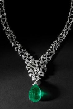 Rate this from 1 to 10: Emerald Necklaces