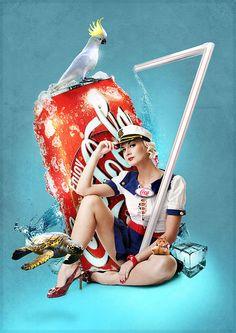 Diet illustration girls pin up 26 trendy ideas Coca Cola Poster, Coca Cola Ad, Always Coca Cola, Vintage Coca Cola, Pin Up Girl Vintage, Vintage Advertisements, Vintage Ads, Vintage Posters, Vintage Signs