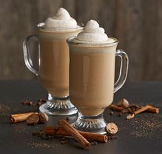 This inventive twist combines a chai latte recipe with a hot chocolate recipe for soothing winter warmer.