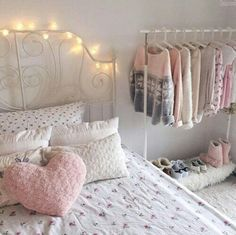 Teen girl room remodel ideas: The things that objects around the mantle should be appropriately balanced. A mantle that may be unbalanced may affect the feel and look of the room. Teen Room Decor, Bedroom Decor, Bedroom Ideas, Bedroom Wall, Wall Decor, Girl Room, Girls Bedroom, Bedroom Images, Shabby Chic Bedrooms
