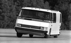 BMW Turbodiesel/5-Speed 1986 Vixen 21 at speed.