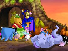 halloween Winnie the Pooh and Friends