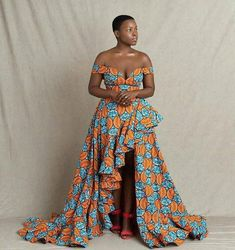 Sensational Ankara Gowns to Copy - Ani Exclusive African Formal Dress, African Wear Dresses, African Fashion Ankara, African Traditional Dresses, Latest African Fashion Dresses, African Print Fashion, Africa Fashion, African Attire, African Prints