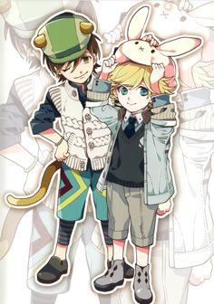 Tiger & Bunny ~~ Kawaii! :: Kid!Tiger and Kid!Bunny!