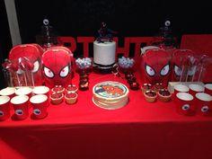 #spiderman #treat #table