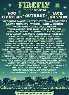 I wish….Firefly Music Festival, June 14 Delaware