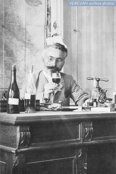 M. Musinyan - the chief winemaker of the Yerevan cognac factory, 1912